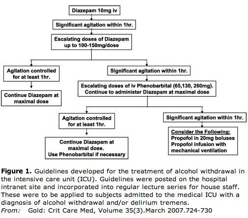 Alcohol Withdrawal Protocol