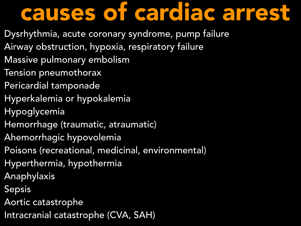 Causes of CA